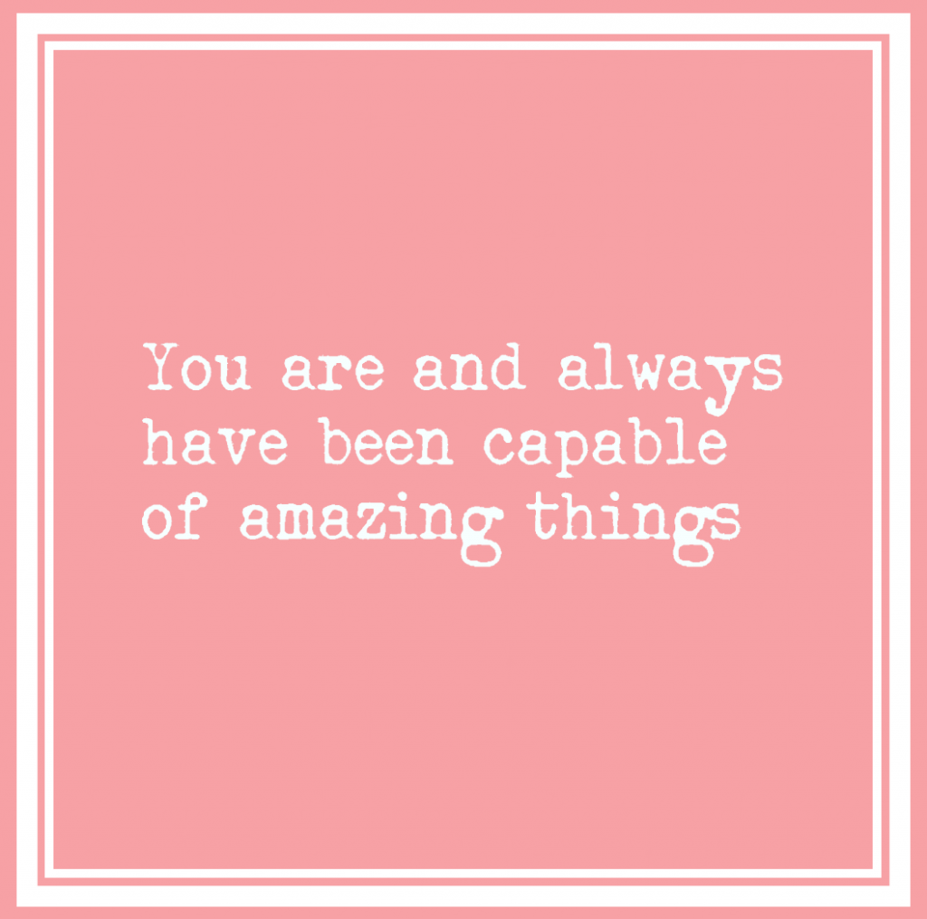 feeling overwhelmed - you are amazing!