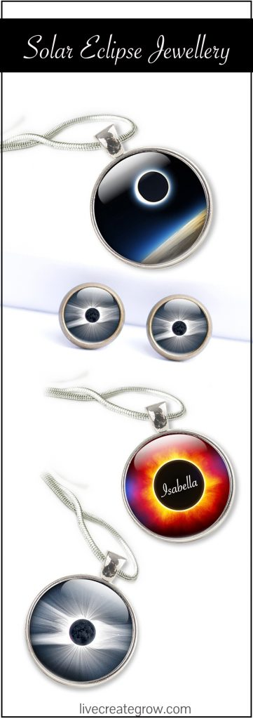 solar eclipse jewelery