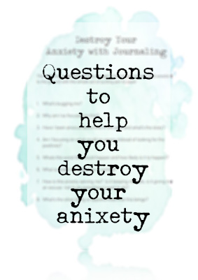 Use these questions to help deal with your anxiety